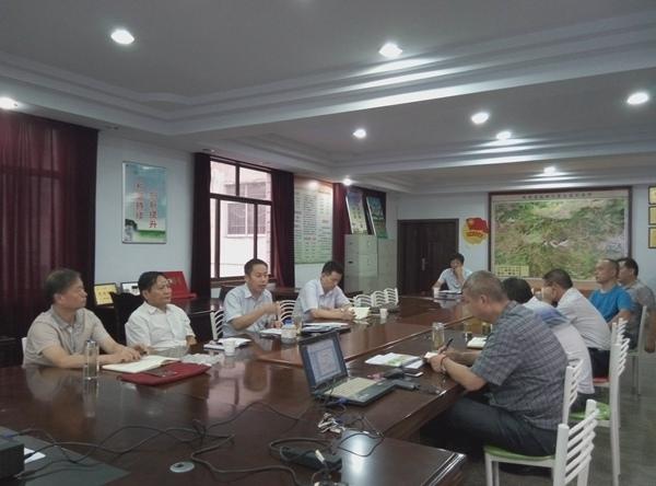 公司领导针对矿调工作召开座谈会